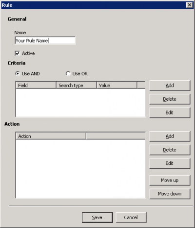 E-mail Blacklisting Hmail - All n One's bxp software Wixi